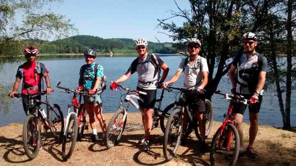 séjour grands lacs du Morvan en VTT