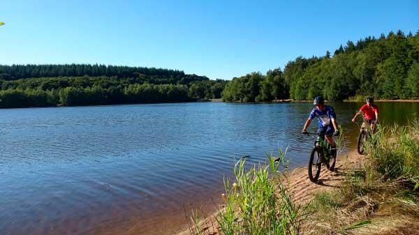 Plage du Lac de Saint Agnan